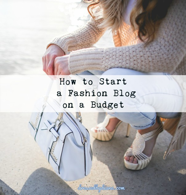 How to blog on a budget